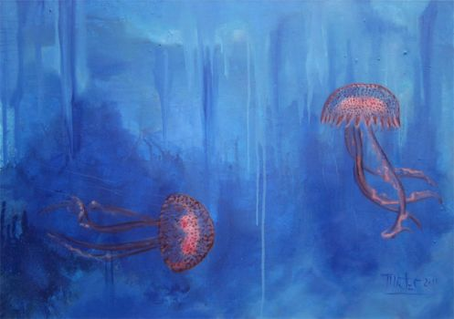 Jellyfish by AL1970ART