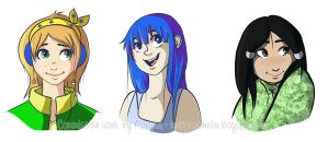 Commission Busts by ditto9