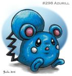 #298 Azurill by Bafa