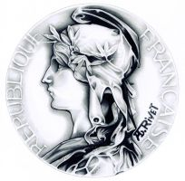 1896 French Indochine Medal of Honor Coin by TheNightGallery