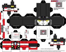 armada starscream cubee template part one by lovefistfury