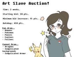 Art Slave Auction Imoi CLOSED by Contract-Bound
