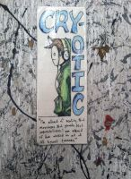 Cry Bookmark by Dead-Kitchen-Staff