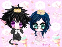 The Loli Princess and the Shota Prince! by bellneko