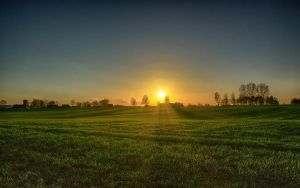 Dzwierszno Male Sunset (HDR) No. 2 by skywalkerdesign