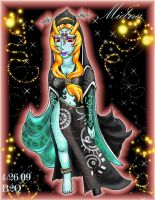 Midna's true appearance by Bowser2Queen