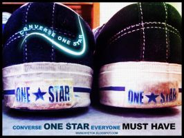 converse one star by mobber