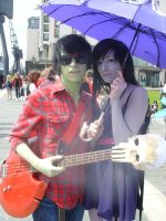 Marshall-lee and Marceline 2 by Hannahblahhh