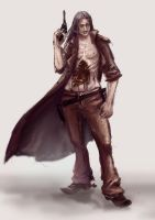 Western Zombie by 6Noodle9