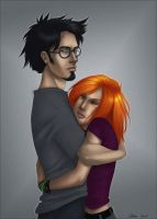 Harry and Ginny by Shiva-Anarion
