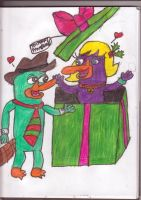 A Present for Perry by sideshowbobfanatic