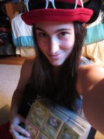 Serena Cosplay and POKEMON CARDS FTW by xxBrandy