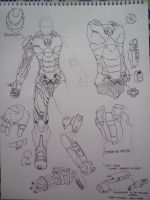 Halo Wars + MKVII Concept [ Body + arms + back ] by kamikurosuHibari