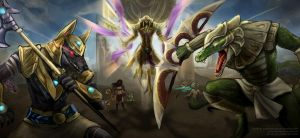 The Legend of Shurima by slifertheskydragon