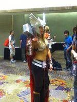 Sexy Thor or Thordis? (at Phoenix Comicon 2012) by saki-senpai