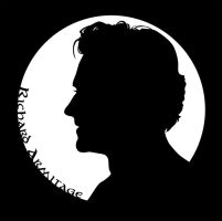 Richard Armitage Silhouette by Norloth
