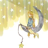 fishing for stars by flowuh