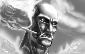 Colossal Titan by Ceehoff