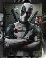 X-Force Deadpool  by Spider-maguire