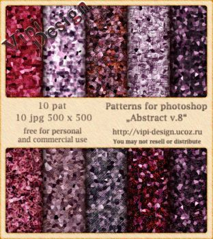 Patterns for photoshop - Abstract v.8 by elixa-geg