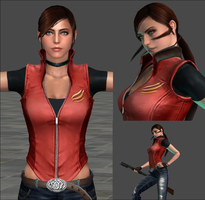 XNA LARA - Claire Redfield V2.0 [ Download] by FearEffectInferno