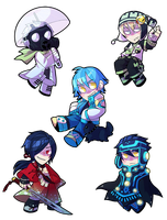 DMMD Stickers by Kiwifie