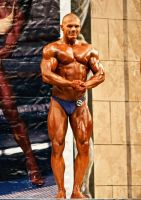 Bodybuilding competition 02 by vishstudio