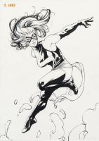 Ms Marvel Step 2 by davidyardin