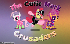 Cutie Mark Crusaders wallpaper by BC-Programming
