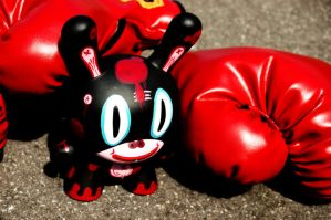 Dunny Boxer by spudink