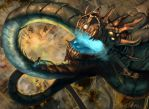 Uriel Vs The Dragon King by Lalilulelo2003