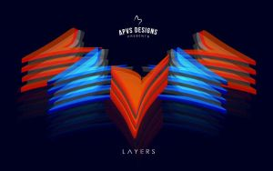 Day 1   L A Y E R S by andrew-pvs