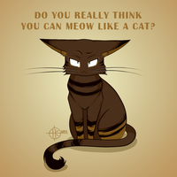 Meow Like a Cat by Nakovalnya-Art