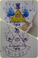 Bill Cipher by Mika-19