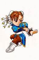 Street Fighter Chibi: Chun-Li by fastg35