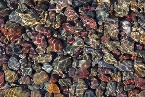 Refracted rock by alteredtastes