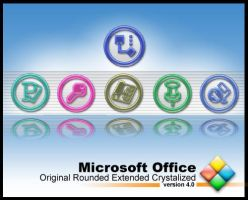 MS Office Rounded Extended by weboso