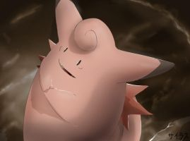Pokemon Clefable Silvestre by Sorocabano