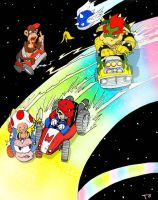 Mariokart, Beeyotch by Dogmeatlives
