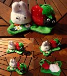 Totoro Strawberry for Mulle by Plushbox