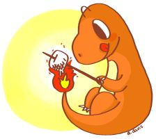 004: charmander by heartpuncher