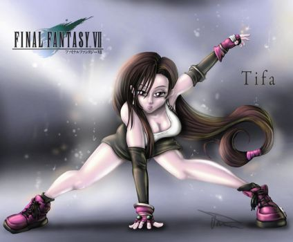Tifa Lockhart by MirrorwoodComics