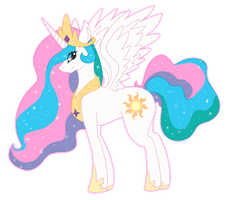 .:Princess Celestia:. by FR0STBIITE