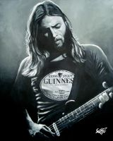 David Gilmour by ZomBieTOmmm