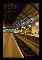 Newcastle Station by ForcedReaction