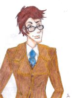 10th Doctor by JessiBellEvans