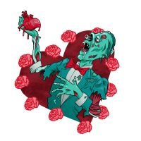 Zombie Valentines by Marcelo-Baez