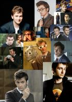 David Tenant Collage by bandanamonkey