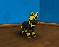 Pupra Form 2 in game by PolyMune