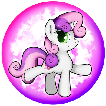 Sweetie Belle Orb 2 by flamevulture17